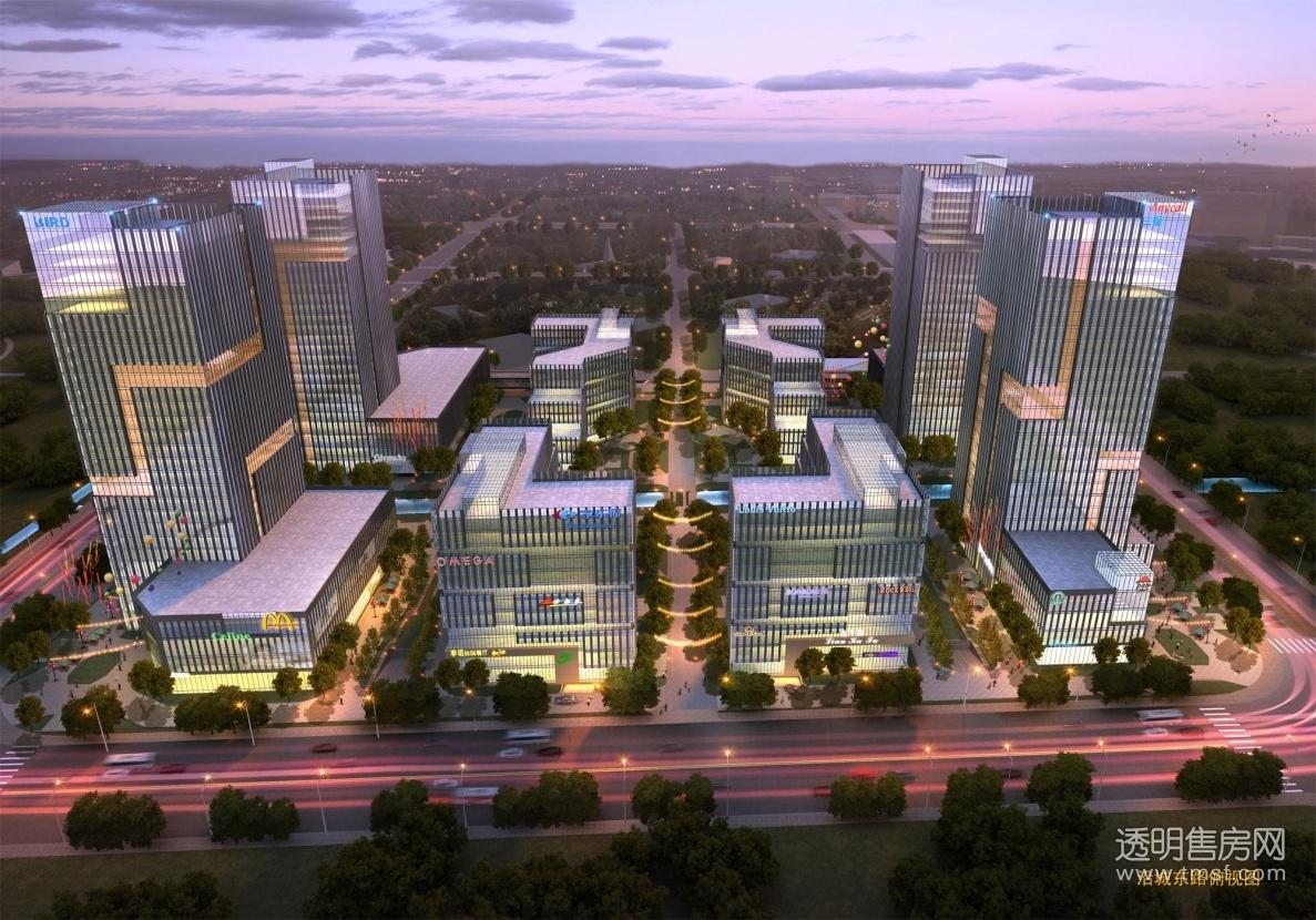 浙江杭州未来科技城位于杭州市余杭区