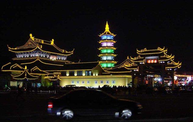 无锡南禅寺夜景