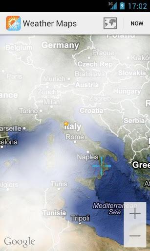 天气地图截图3