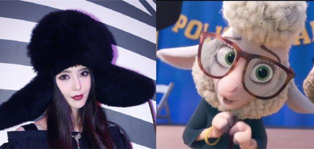 而且光看头,真的很像疯狂动物城里面的羊市长不戴眼镜的样子啊!