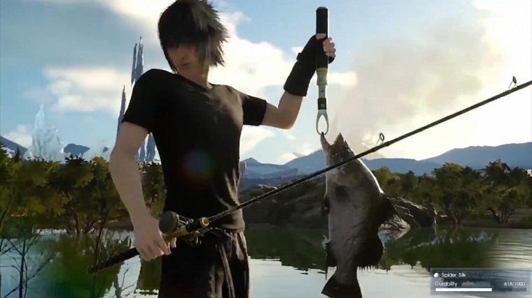 《最终幻想15》钓鱼