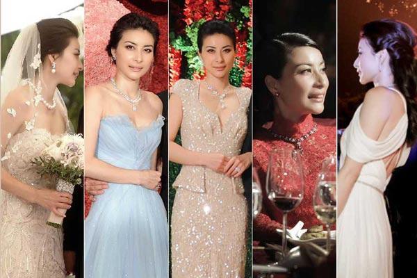 跳水皇后下嫁霍启刚,被嘲穿衣太老气?网友怒怼:你们眼瞎吗?