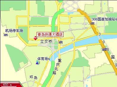 青岛惜福镇科三地图