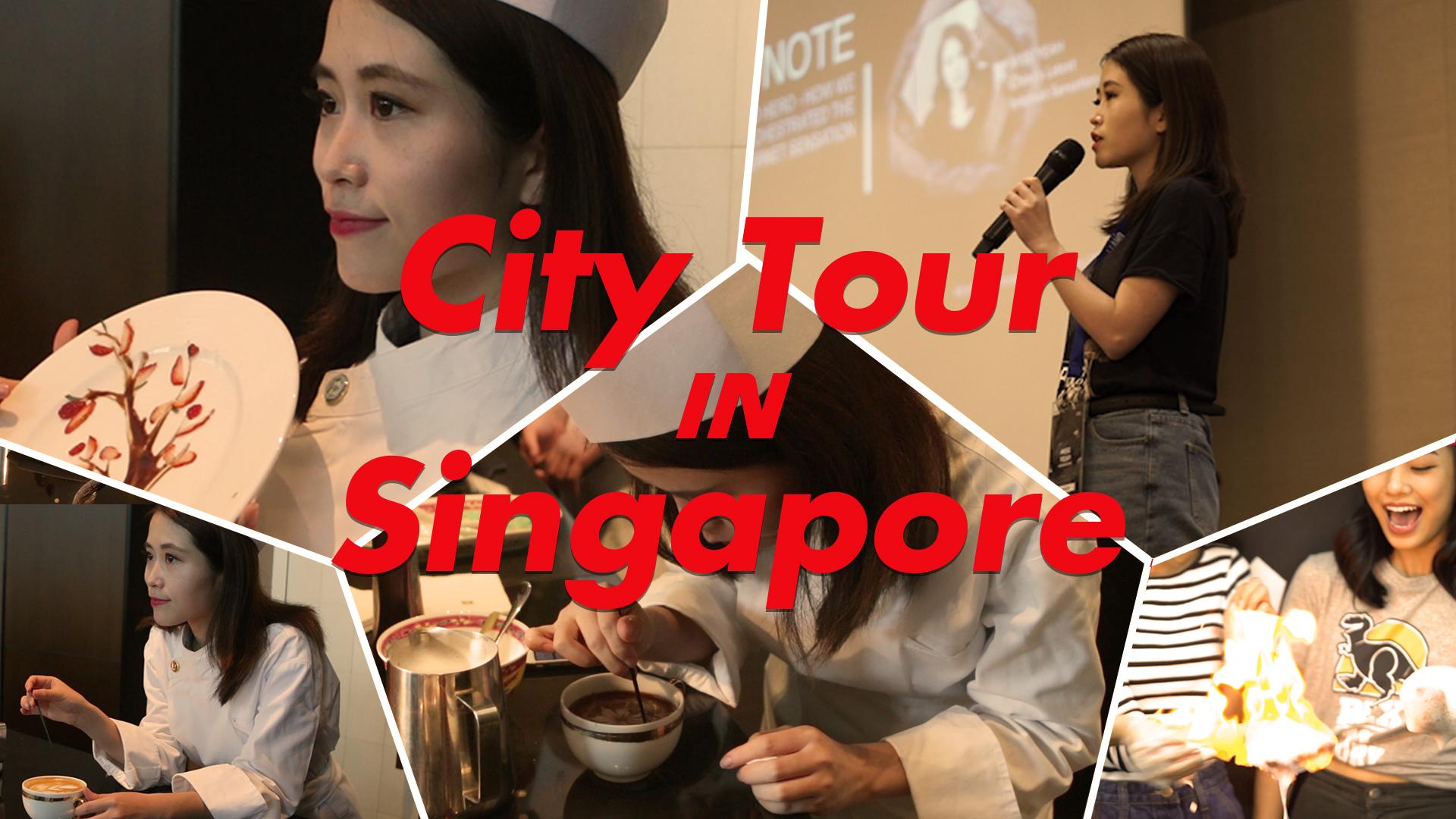 办公室小野出席新加坡活动,传授绝技火云掌,粉丝尖叫不停!
