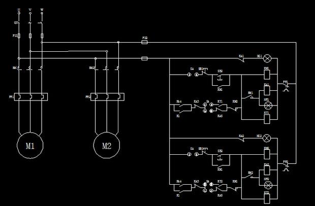 消防泵的plc梯形图