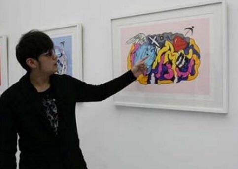 杨幂15年前卡通很动人,鹿晗大作很抽象,盘点娱乐圈的画家 -  - 真光 的博客