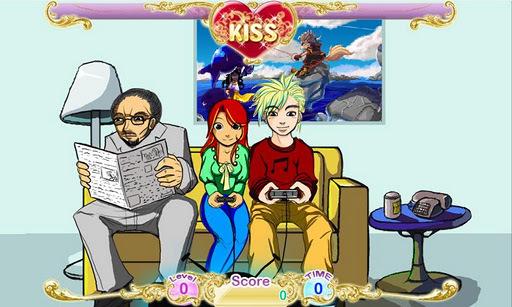 爸爸的小女孩:吻游戏_360手机助手