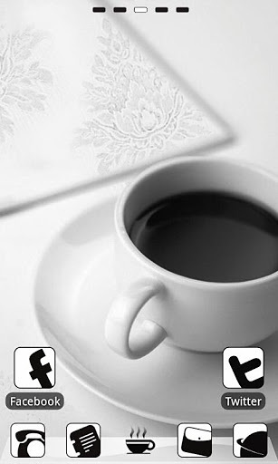 GO桌面主题 Z.CoffeeW截图3