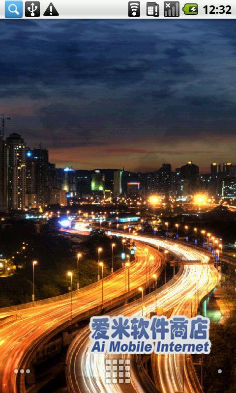 都市夜景动态壁纸_360手机助手