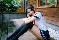 台湾校花级正妹轰动日本 这大长腿逆天了!