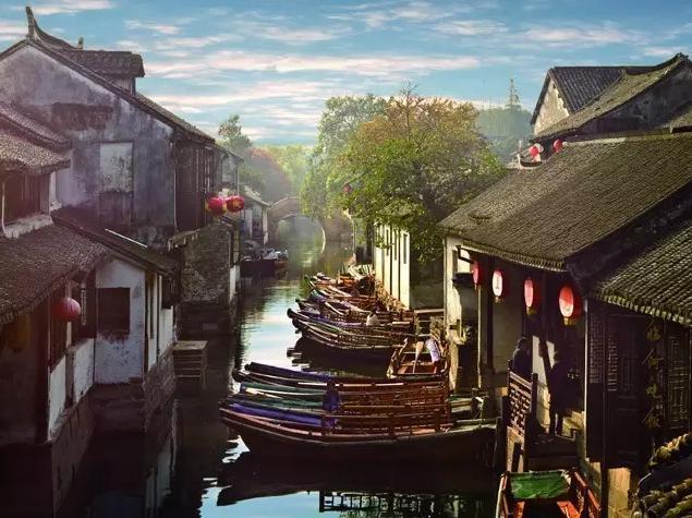 中国古色古香十个古镇,来了就不想走了            【图文转载】 - 兰州李老汉 - 兰州李老汉(五级拍客)