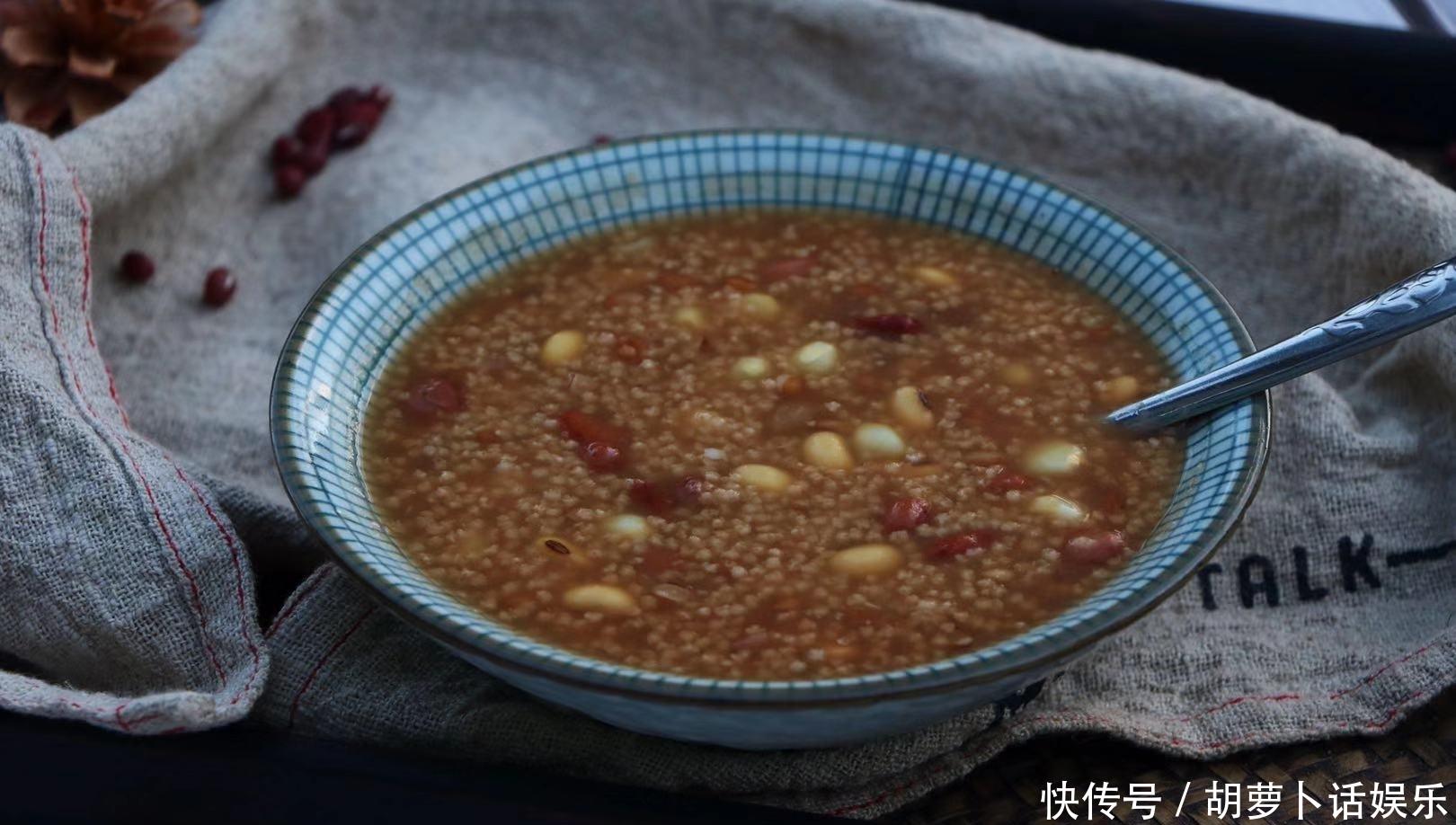 <b>天气炎热,不妨试一试这款特色杂粮粥,口感香甜,越喝气色越好</b>