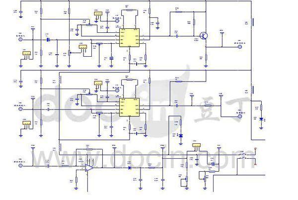 二极管检波解调电路中,解调后仅存低频信号,载频被如何消除的?