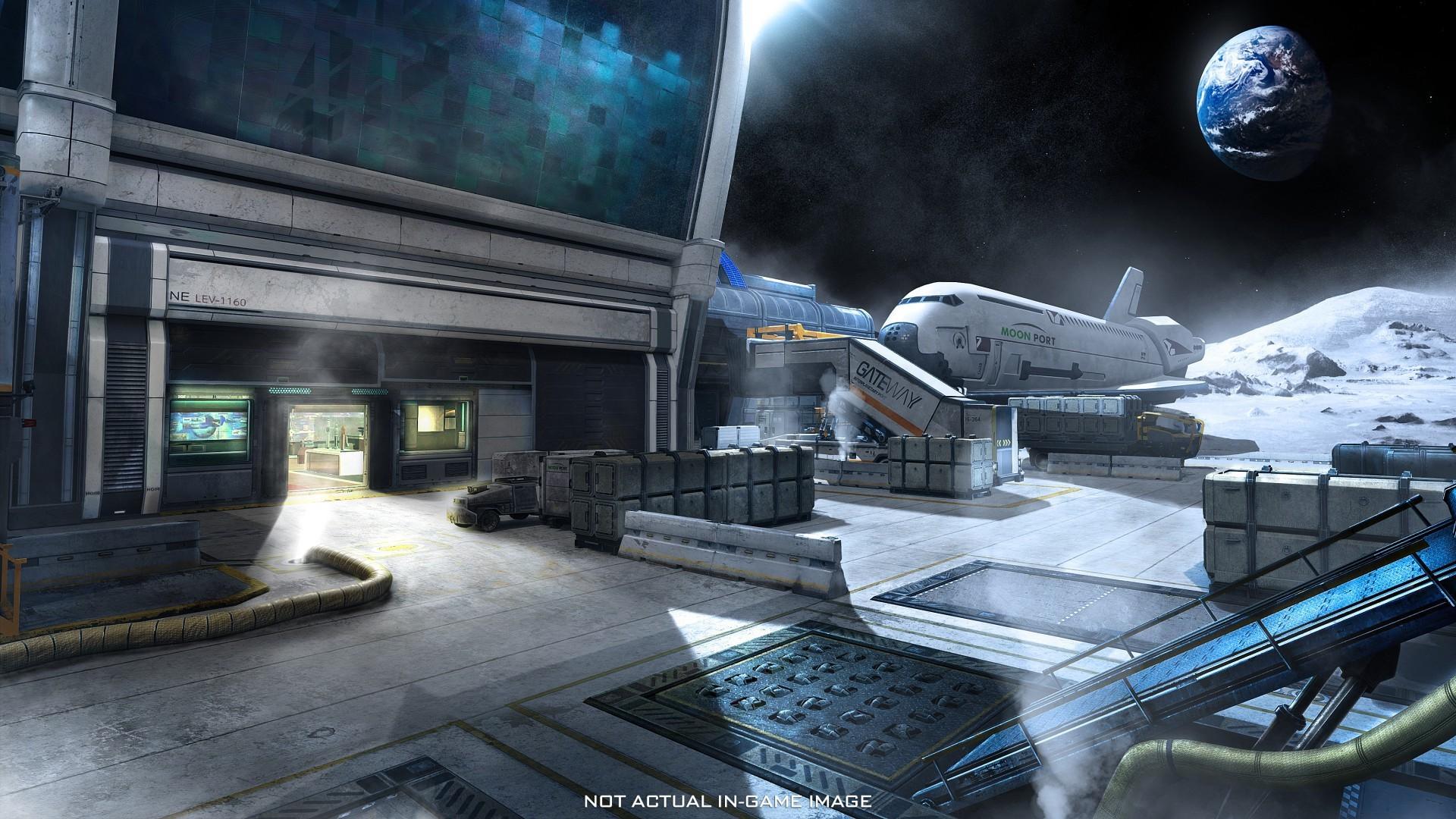 《使命召唤13》重制经典地图航站楼