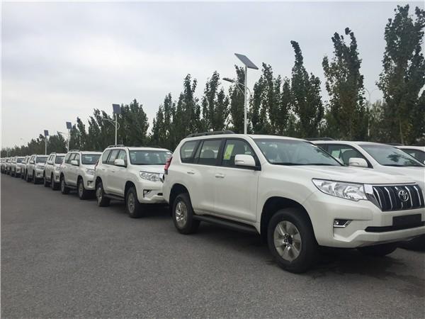 2019款丰田霸道2700天津名车广场渝新欧平行进口车