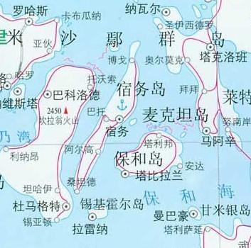 宿务岛地图中文版