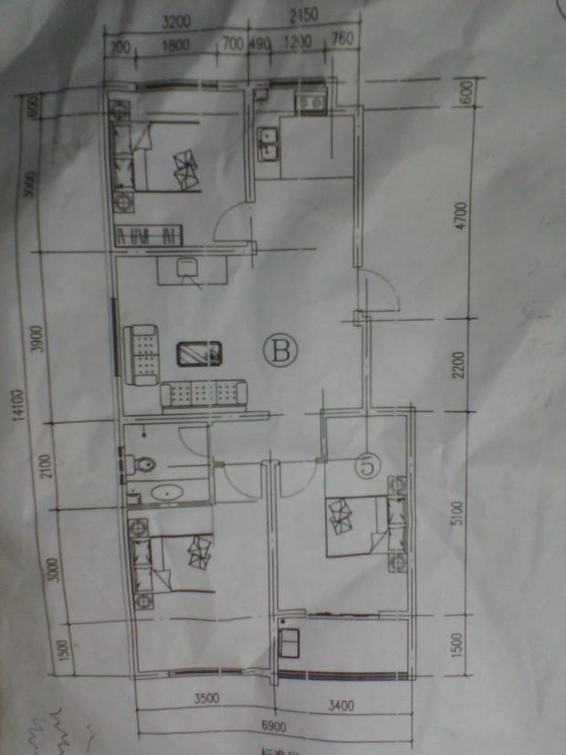 房型图三室两厅房型平面图两室一厅房型平面图