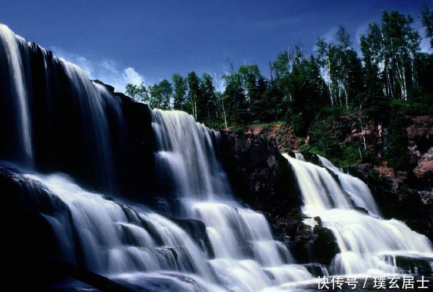 最好旺财山水风景图片
