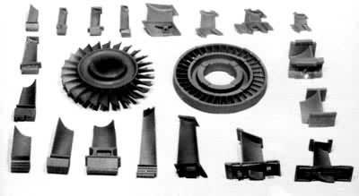 在现代飞机发动机中,涡轮叶片几乎全部采用镍基合金制造.