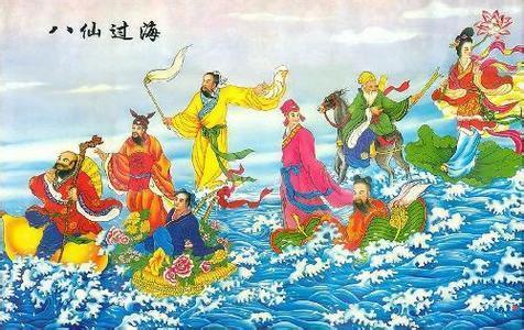 请问八仙过海中的八仙都有什么神器呢?