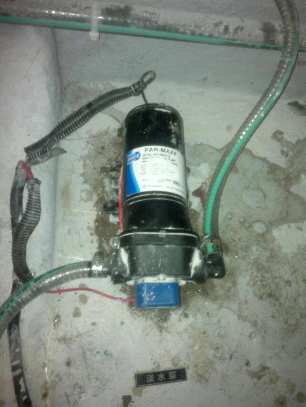 游艇卫生间抽水马桶下面用的属于什么水泵