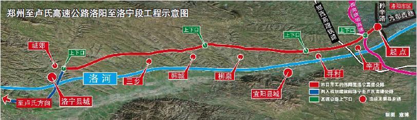 郑州至卢氏高速公路洛宁到洛阳段