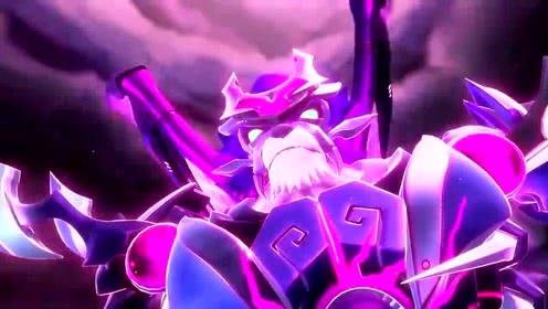 猪猪侠:五灵卫全体变身已抵抗 黑暗五灵王 他太强大了
