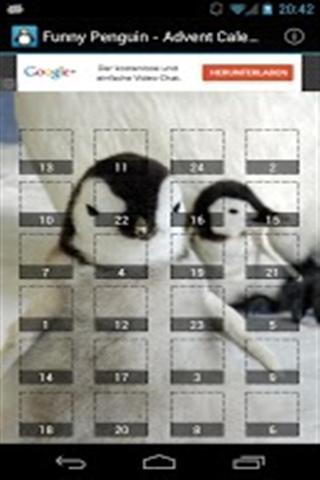 有趣的企鹅降临日历截图2