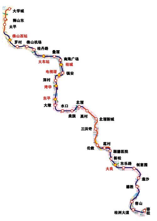 广佛地铁3号线什么时候开通 线路图是图片