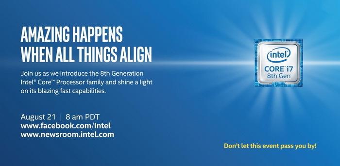 Intel第八代U系列移动处理器亮相 可顺利安装到游戏本上