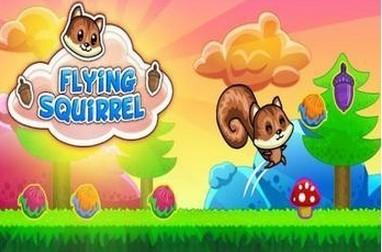 游戏目标 帮助小松鼠收集完全部的水果跳到星星处即可进入下一关!