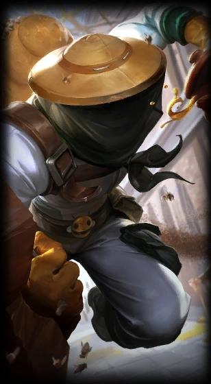 LOL养蜂人辛吉德新皮肤原画、载入图片以及图标公布