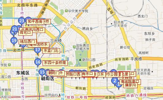 江海中路和和平路地图