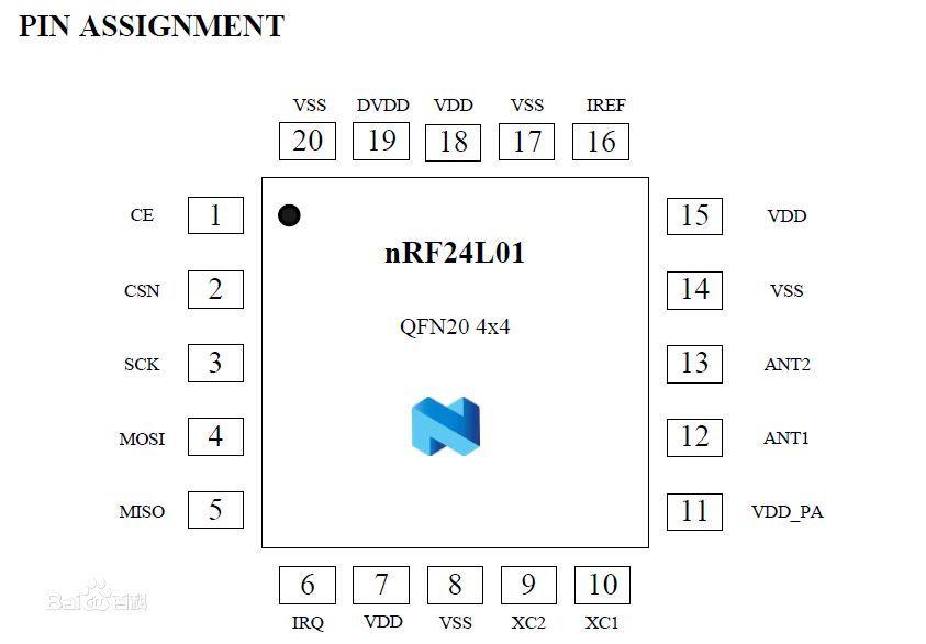 电路原理 nrf24l01原理图