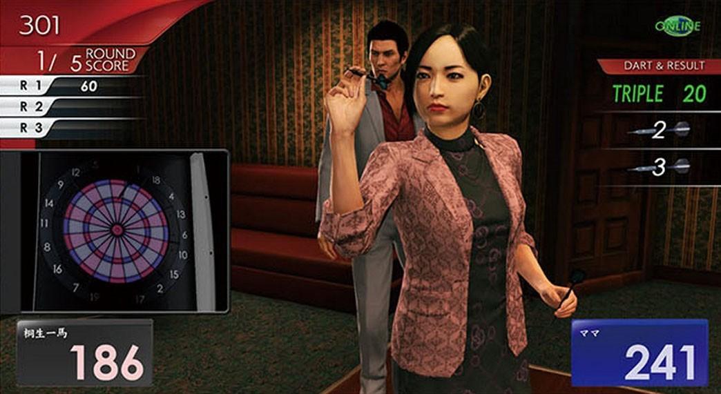 《如龙6》公布各种小游戏内容