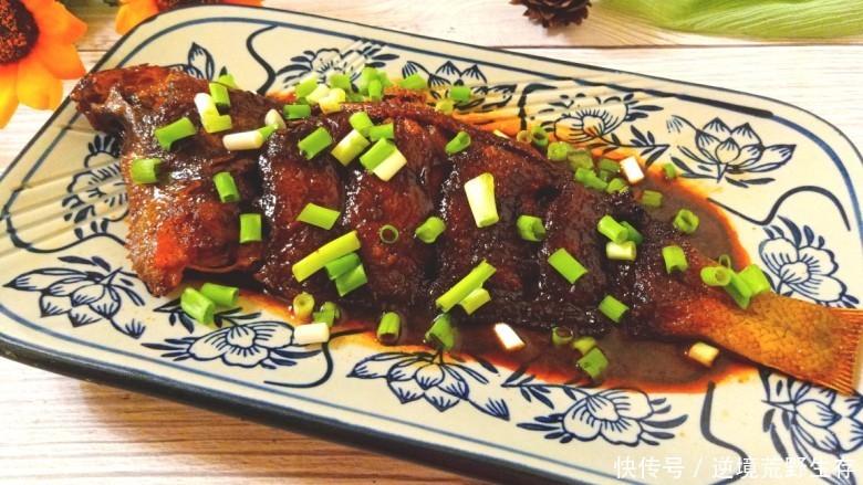 吃不胖的鱼肉菜谱,炖扁口鱼,做法简单,美味下饭,快速搞定