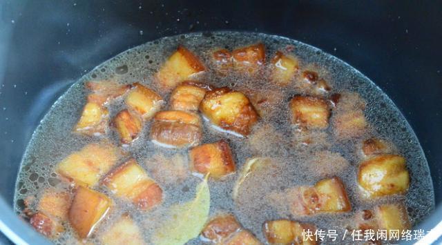 美食美食红烧肉,软烂下饭,好吃不腻,还入味,就一香港油麻地传统图片