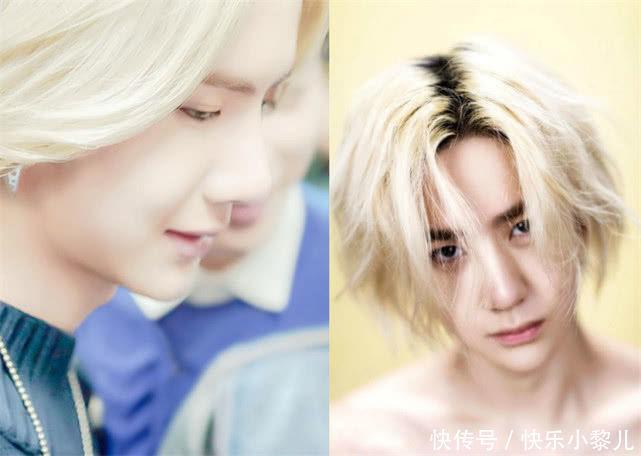 王一博的白发,蔡徐坤的白发,彭昱畅的白发,网友:差距一目了然