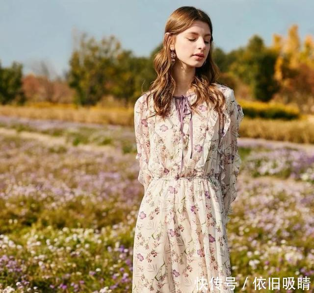 我所有的少女梦,都在一条飘飘欲飞的花裙子上!