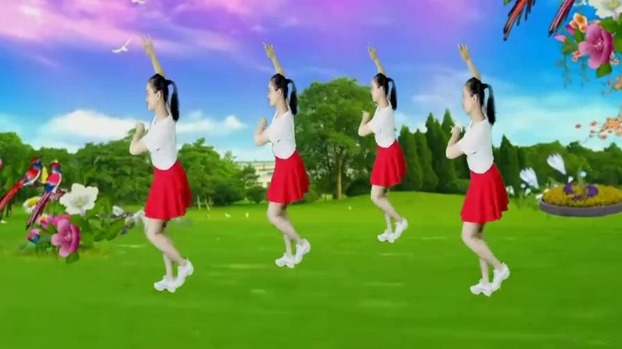 广场舞《长路漫漫陪你走》相依相伴直到永久!