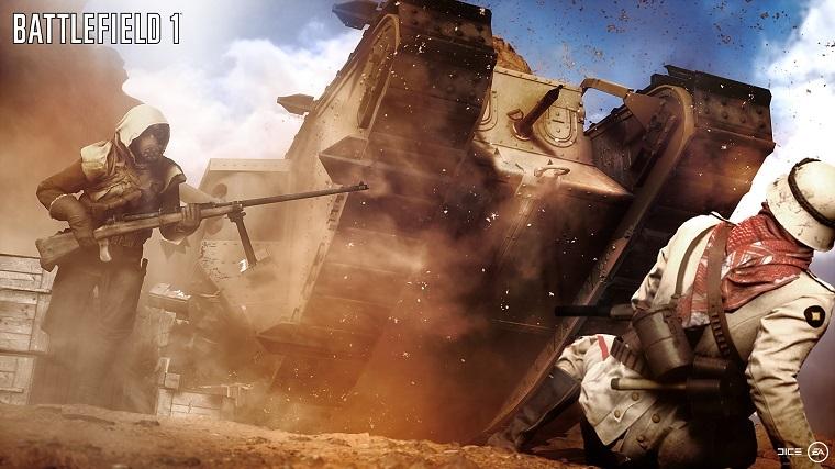 《战地1》坦克