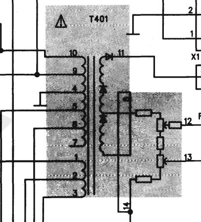 求教金星c6430型彩色电视机行高压包的型号
