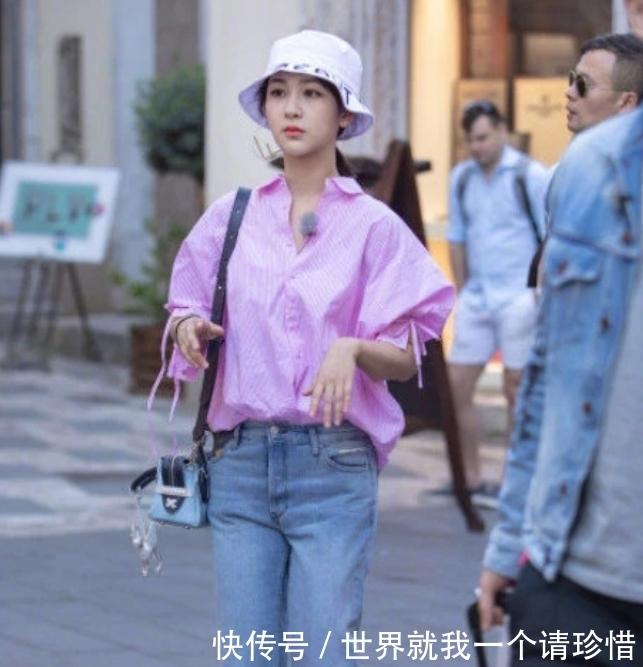 杨紫《中餐厅》路透照,生图下暴露真实颜值,网友:还要骗多久?