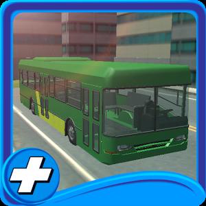 免费城市公交车站停车3D