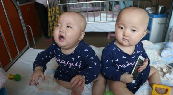 双胞胎同患白血病 父母卖房只够救一个