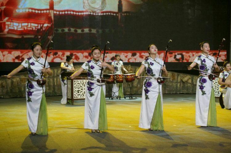 琵琶重奏乐谱-天姿国乐 丝路琵琶行 交流活动举行