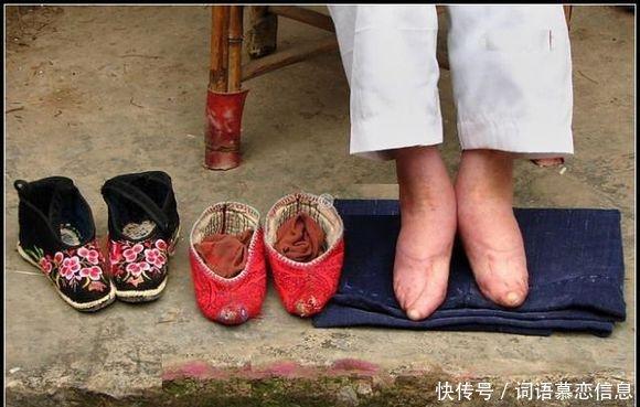 裹小脚的民国姑娘照片,为何中国古代女人爱缠