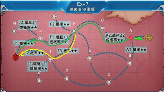 战舰少女r女武神行动e7通关攻略