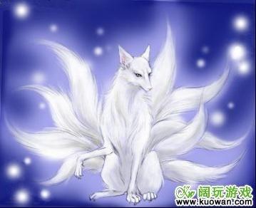 求九尾狐动漫图片