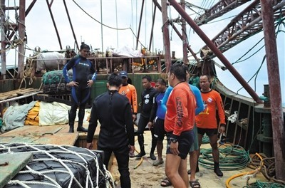 Philippine media: 12 Chinese fishermen in the Philippines was acquitted on Friday was repatriated - Beijing time